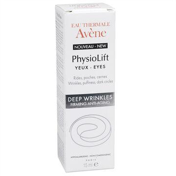 Avene Physiolift Eyes Wrinkles, Puffiness, Dark Circles - 15ml