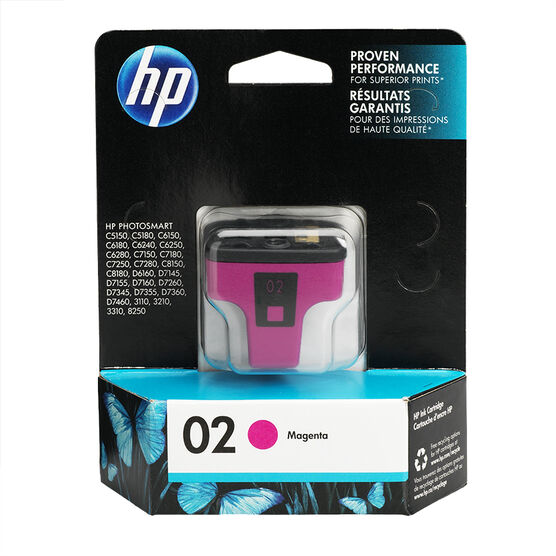 HP 2 Vivera Ink Cartridge - Magenta - C8772WN#140