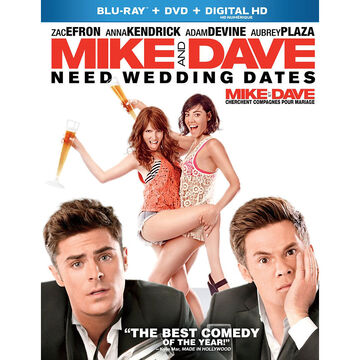 Mike and Dave Need Wedding Dates - Blu-ray
