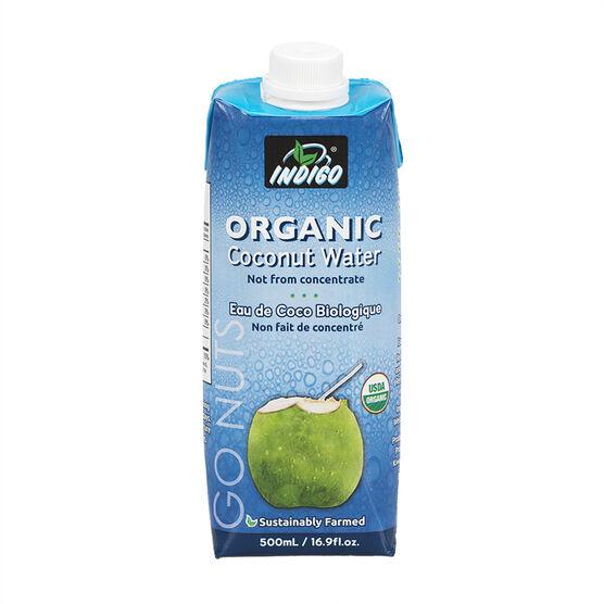 Indigo Organic Coconut Water - 500ml