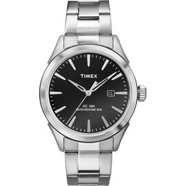 Timex City Collection Watch - Silver/Black - TW2P77300AW