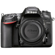 Nikon D7200 DX Body - Black - 33715