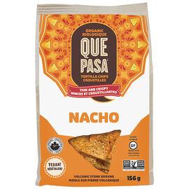 Que Pasa Tortilla Chips - Nacho - 156g