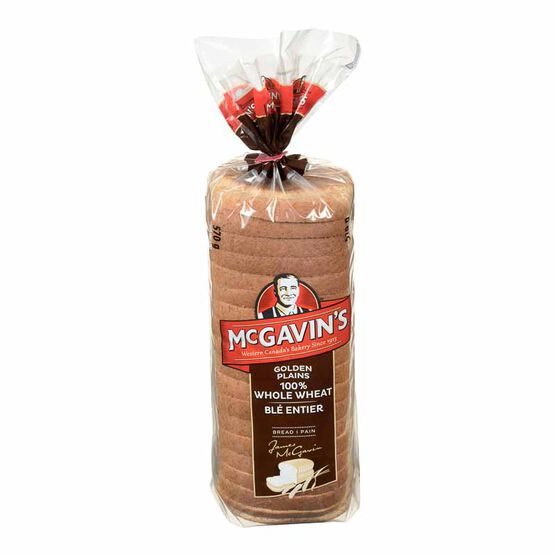 McGavin's 100% Whole Wheat Bread - 570g