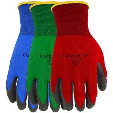 Watson PVC Coated Garden Gem Gloves - Medium - Assorted