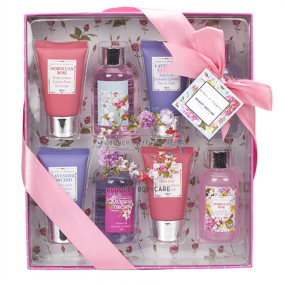 Bunch of Flowers Bath Body Set - 8 piece