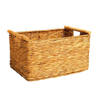 London Drugs Water Hyacinth Twisted Basket