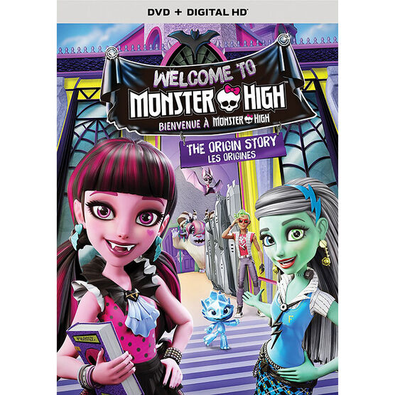 Monster High: Welcome to Monster High - DVD