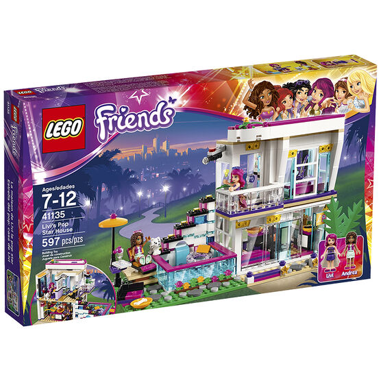 Lego Friends - Livi's Pop Star House