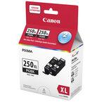 Canon PGI-250XL Twin Pack Ink Cartridges - Black - 6432B010