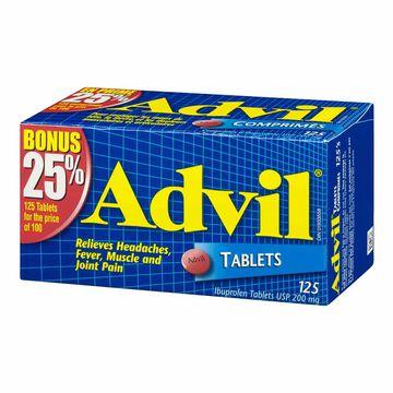 Advil Ibuprofen Tablets - 100's