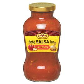 Old El Paso Salsa - Hot - 440ml