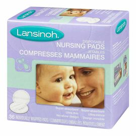 Lansinoh Disposable Nursing Pads - 36's