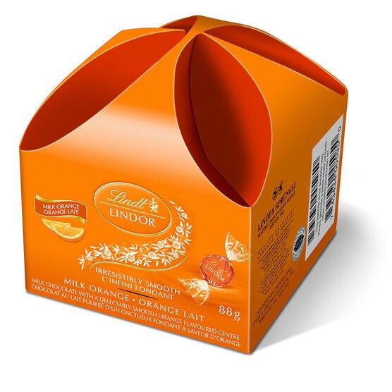 Lindt Milk Chocolate - Orange - 88g