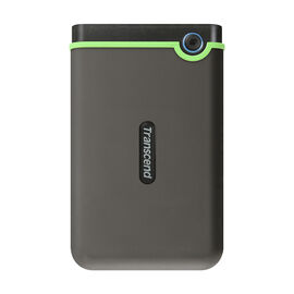 Transcend 2TB StoreJet Rugged External Hard Drive - Iron Grey - TS2TSJ25M3