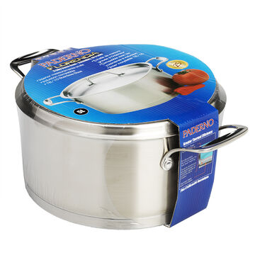 Paderno Florencia Stainless Steel Dutch Oven - 5L