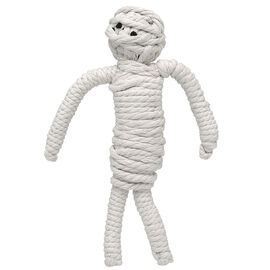 Jaxbones Rope Dog Toy - Mummy - 10inch