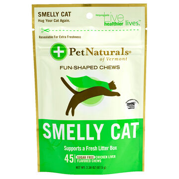 Pet Naturals Smelly Cat Chews - 45's.