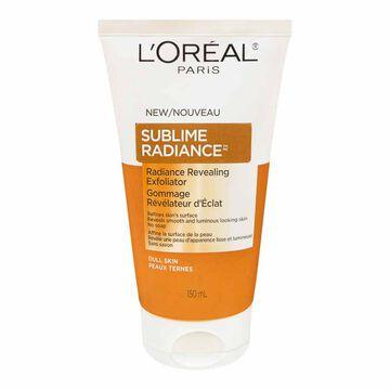 L'Oreal Sublime Radiance Revealing Exfoliator - 150ml