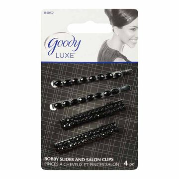 Goody FashioNow Luxe Hair Clips Variety Pack - 4's