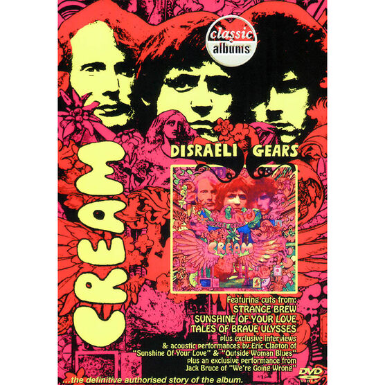 Cream - Disraeli Gears - DVD