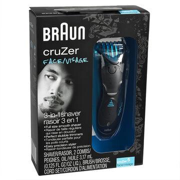 Braun cruZer5 Face Electric Shaver - 86279
