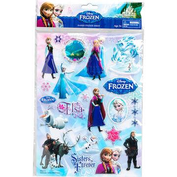 Disney Frozen Raised Sticker Sheet