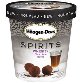 Haagen Dazs Spirits - Whiskey Chocolate Truffle - 475ml