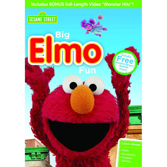 Big Elmo Fun! - DVD