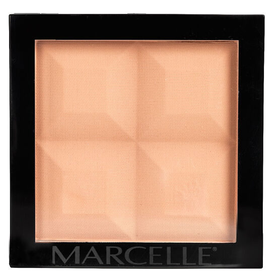 Marcelle Monochromatic Pressed Powder - Dark