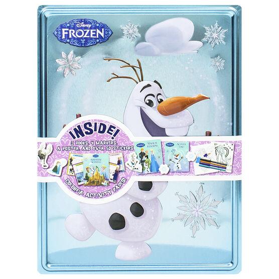 Happy Tin Activity Set - Frozen Olaf