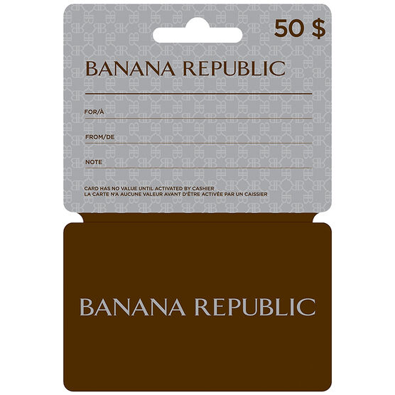 Banana Republic Gift Card - $50