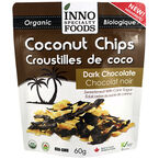 Inno Specialty Foods Coconut Chips - Dark Chocolate - 60g