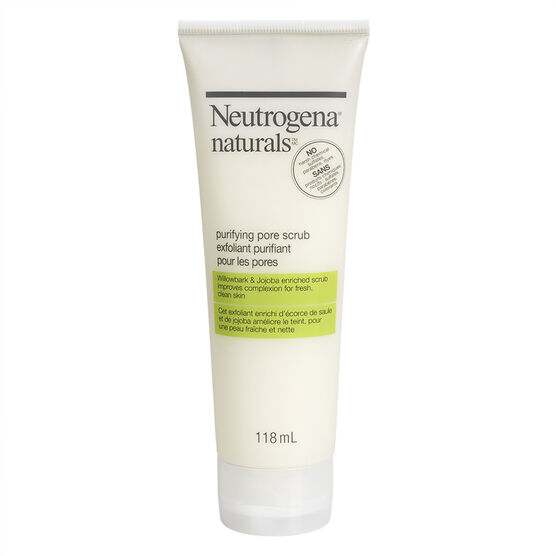 Neutrogena Naturals Purifying Pore Scrub - 118ml