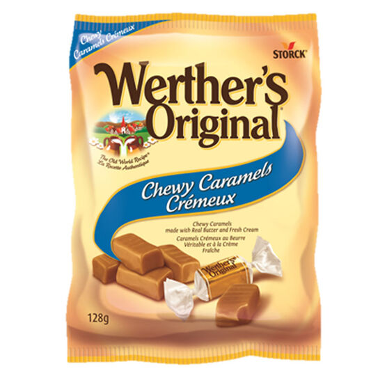Werther's Chewy Caramels - 128g