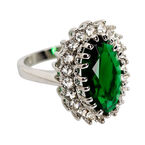Marca Emerald Ring - Size 7