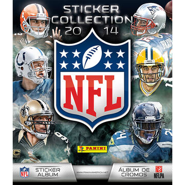 Panini 2014 NFL Sticker Collection Album - 72 pages