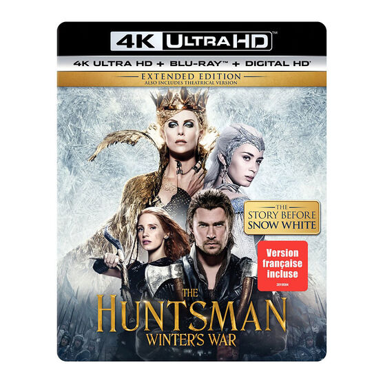 The Huntsman: Winter's War - 4K UHD Blu-ray