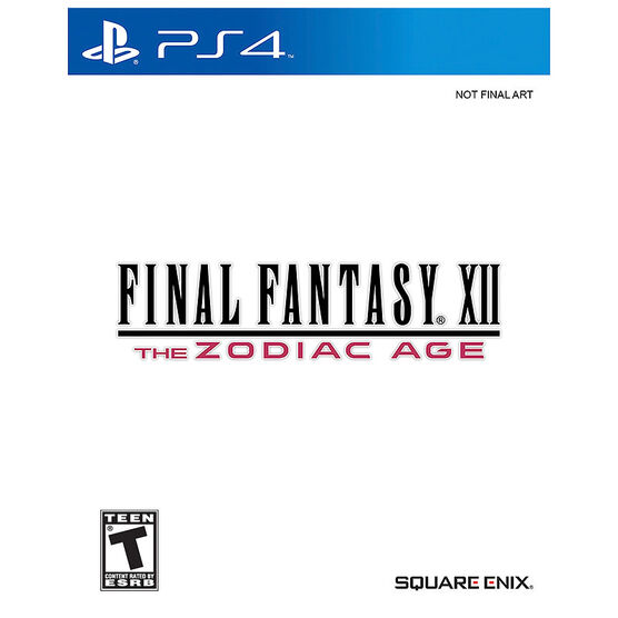 PRE-ORDER: PS4 Final Fantasy XII The Zodiac Age