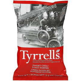 Tyrrell's Chips - Sweet Chili and Pepper - 150g