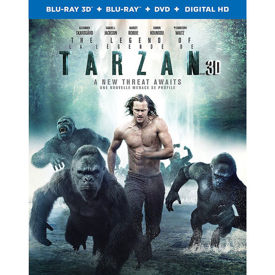 The Legend of Tarzan - 3D Blu-ray