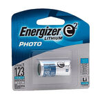 Energizer 3V Lithium Battery Single EL123