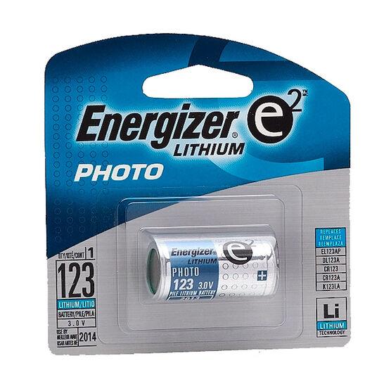 Energizer 3V Lithium Battery Single EL123
