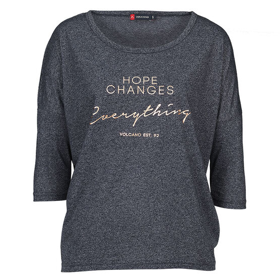 Volcano Hope Changes Tee - Navy - Assorted