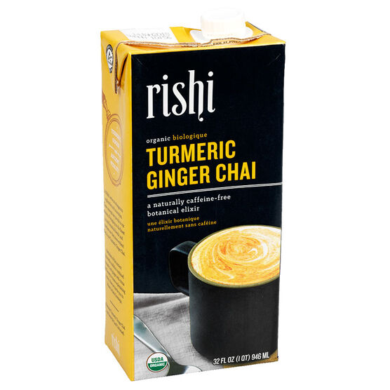 Rishi Organic Turmeric Ginger Chai Tea Concentrate - 946ml