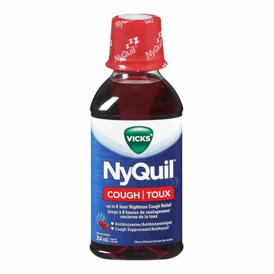Vicks DayQuil Liquid for Cough - Cherry - 354ml