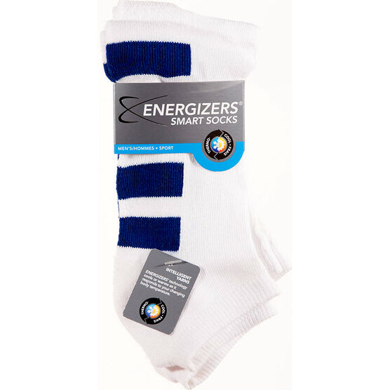 Energizers Men's Sport Anklet Socks - 2 pairs - Blue