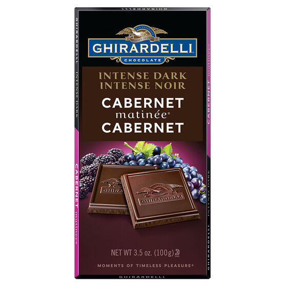 Ghirardelli Intense Dark Chocolate Bar - Cabernet Matinee - 100g
