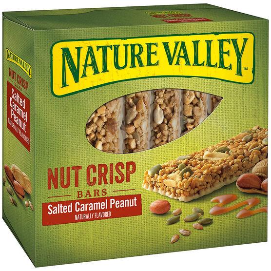 Nature Valley Nut Crisp Bars - Salted Caramel - 6's