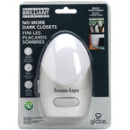 Globe LED Night Light with Hook